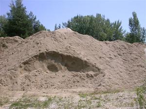matériaux construction gravière sable gravier galet gravillon sol de vigne