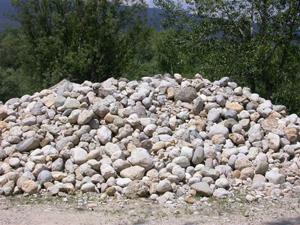 matériaux gravière sable gravier galet gravillon sol de vigne